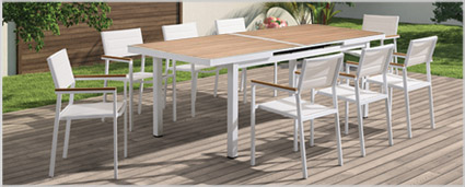 Modern Outdoor Furniture - Modern Outdoor Dining Sets at mh2g
