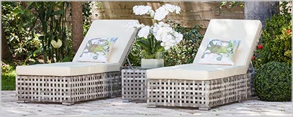 Modern Outdoor Furniture - Modern Outdoor Chaises at mh2g