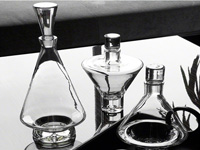 Clear Decanters Modern Accessory
