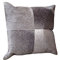 Luxury Cowhide Modern Pillow. Modern Accessory in Miami