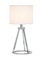 rowan modern table lamp white Shade