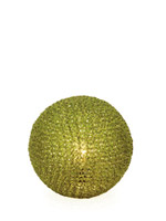 sphere modern table lamp olive