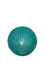 sphere modern table lamp turquoise