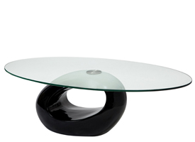 bagni modern coffee table in black