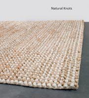 Carmen Hand Woven Contemporary Rug. knots