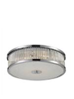 Carriot Modern Semi Flush 4 Bulb Modern Ceiling Lamp