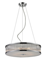 Carriot Semi Flush 5 Bulb Pendant