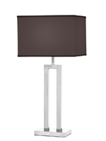 casale modern table lamp black Shade