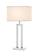 casale modern table lamp white Shade