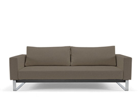 cassius sleek excess begum olive sofa bed