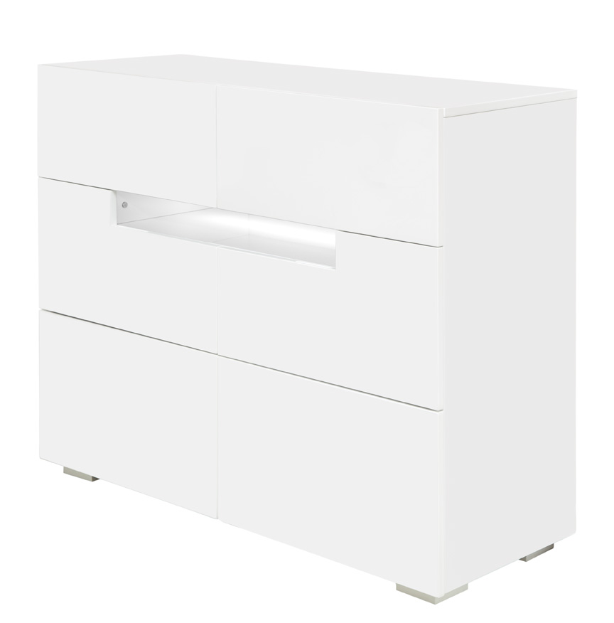 citra modern desk dresser white