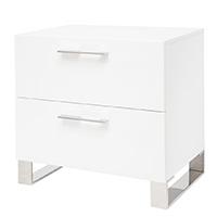 Corsica Modern Nighstand White