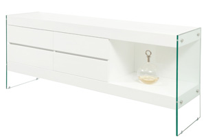 Davoli Buffet in white