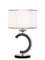 dawson modern table lamp white Shade