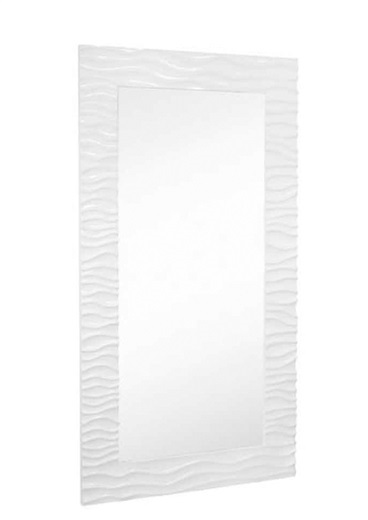 Flow Rectangular Full Modern Mirror