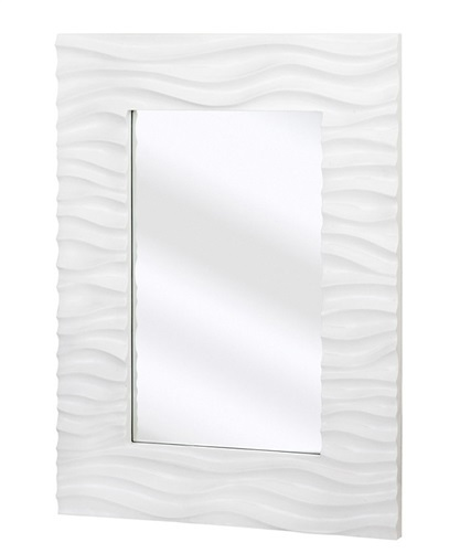 Flow Rectangular Modern Mirror