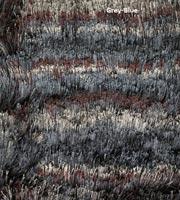 Fresia Modern Shag Rug Grey-Blue