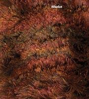 Fresia Modern Shag Rug Merlot