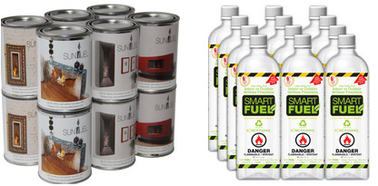 Fire Place Fuel. Smart Fuel and Gel Fuel