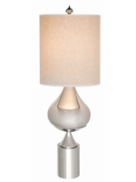 genoa modern table lamp white Shade