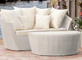 Patio Furniture Fort Lauderdale - Outdoor Loungers at Fort Lauderdale showroom