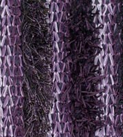 Lavasa purple Hand Made of polyester, brown. Modern rug