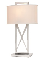 lodato modern table lamp white Shade