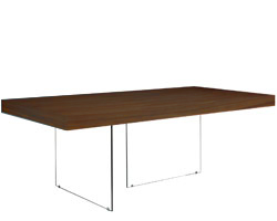 lucca Modern dining table tobacco