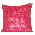 Mother of Pearl Modern Pillow Pink