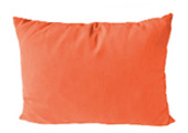 Orange Modern Outdoor Patio Pillow