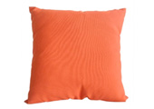 Orange Modern Outdoor Patio Pillow Square