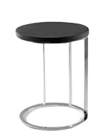 modern Palidoro side table in Black