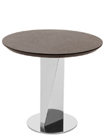 pavia modern side table wengue