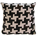 Penelope Cowhide Modern Pillow