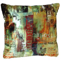 Poison Ivy Pillow Modern Pillow