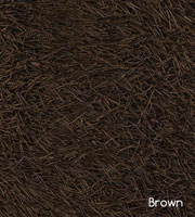 Polonia brown Hand Made of polyester, brown. Modern rug