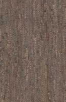 Porto Hand-woven coffee Leather Rug. Modern Home 2 Go. Modern leather Rug