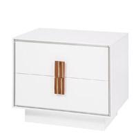 portofino modern nightstand White