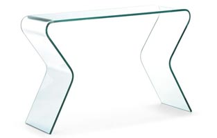 Moder Glass respite Console table