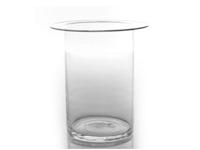 Rota Vase and Insert Modern Accessory