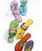 Sandals Modern Art