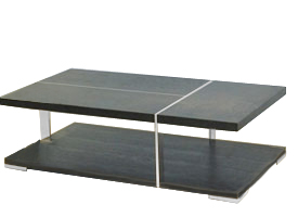 Siano modern coffee table in wengue