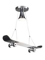 Skateboard Modern Ceiling Lamp