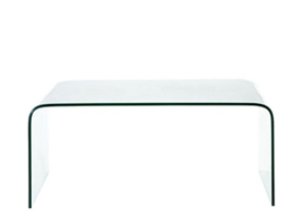 Soujourn Glass Coffee Table available at mh2g