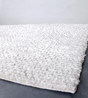 Temuco Modern Shag Rug White