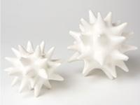 Urchin White Modern Accessory
