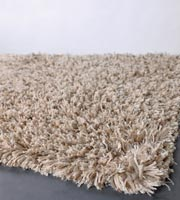 Valdivia cream Hand Made of polyester. Beautiful beige Modern rug
