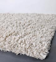 Valdivia cream Hand Made of polyester, off-white. Modern rug