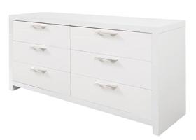 vercelli modern dresser white