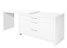 vercelli modern desk dresser white